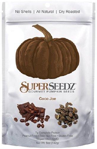SuperSeedz Gourmet Pumpkin Seeds Coco Joe - (6 Pack) by SuperSeedz