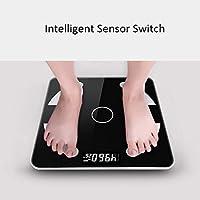 TJS Escala de visualización electrónica Digital, básculas de baño ...