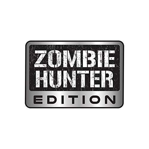Zombie Hunter Edition Sticker Vinyl Decal Car Truck SUV Decal Badge Halloween -