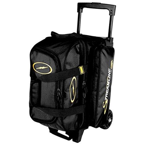 Storm S2034 Bowling Bag, Black, (Storm Bowling 2 Ball Bag)