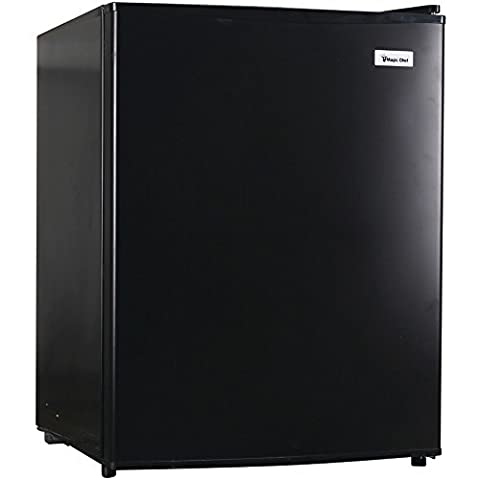 1 - 2.4CBFT ALL REFRGRTR BLK, All Refrigerator (2.4 Cubic Ft), 2.4 cu ft capacity , Frost-free , Full-width in-door storage shelves , Adjustable thermostat control , Adjustable wire shelves …