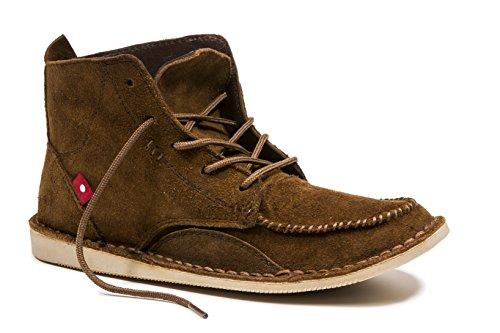 Oliberte Women's Toria Mocha Suede Size 36/6 Oxford Boot by Oliberte