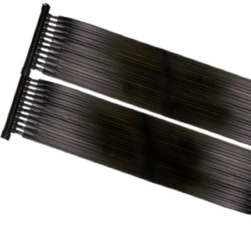 Pool Solarheizung - Sonnenkollektor 80 x 605 cm