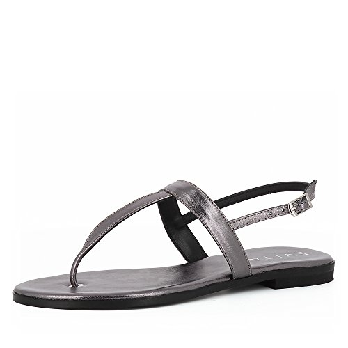 Bronze Olimpia Evita Shoes Olimpia Sandale Sandale Lisse Femme Cuir Shoes Evita nqUvWP4