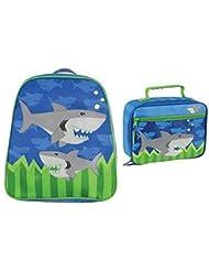 Stephen Joseph Go Go Backpack and Classic Lunchbox Set (Shark_2)