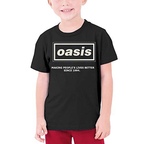Oasis Logo 拷贝 Sport Boys Girl Vintage T-Shirt