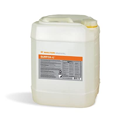 Walter 54A067 Surfox-G PH Neutral Weld Cleaning Electrolyte, 20L Liquid