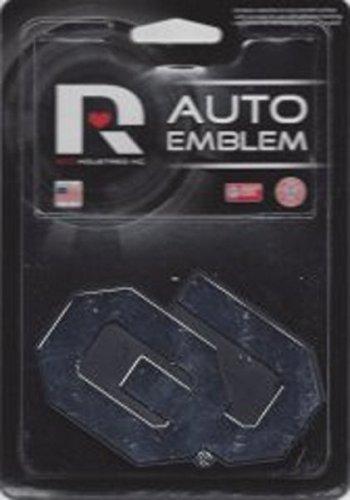 Rico Industries NCAA Oklahoma Sooners Chrome Finished Auto Emblem 3D Sticker