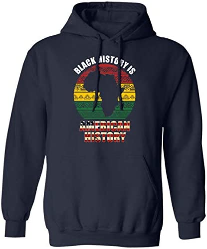 Black History Is America History Hoodie Sweashirt   Black Lives Matter Month T Shirt