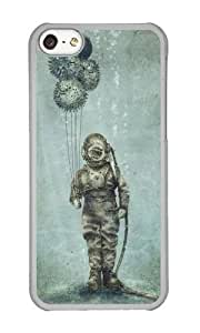 linJUN FENGApple ipod touch 5 Case,WENJORS Awesome Balloon Fish Hard Case Protective Shell Cell Phone Cover For Apple ipod touch 5 - PC Transparent