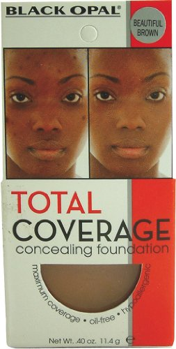 Black Opal Total Coverage Concealing Foundation - Beautiful Bronze (Pack of 2)