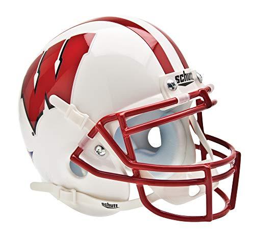Helmet Wisconsin Badgers - Schutt NCAA Wisconsin Badgers Mini Authentic XP Football Helmet