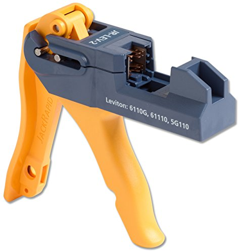 Fluke Networks JR-LEV-2 JackRapid Punch Down Tool for Leviton 61110 5G110 6110G (Type Blade 66 Replacement)