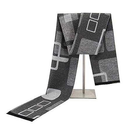 Bufandas Caliente for hombre otoño invierno de la bufanda de rayas ...