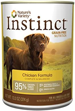Nature S Variety Instinct Original Grain Free Recipe Natural Wet Canned Dog Food Chicken