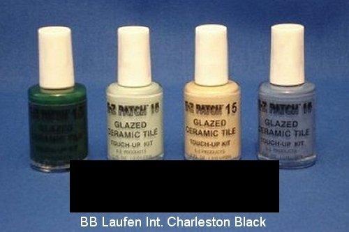 Laufen Ceramic Tile - EZ Products EZP-907 Glazed Ceramic Tile Touch-UP 15-BB Laufen INT. Charleston Black
