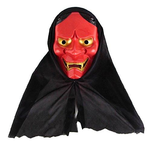 Bar Halloween party dress/Horror scary props/Pumpkin Glow Mask-A (Scary Maska)