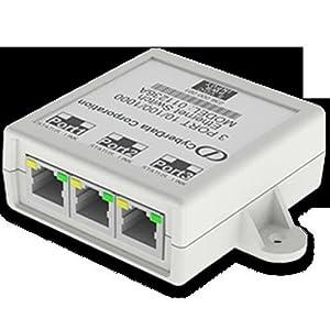CyberData 011236 3 Port Gigabit Ethernet Switch (CD-011236)