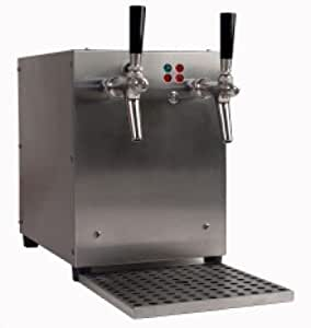 Bebidas de calentador de agua, 3kW, con integrado Compresor De Aire, de 2leitig, caja de acero inoxidable