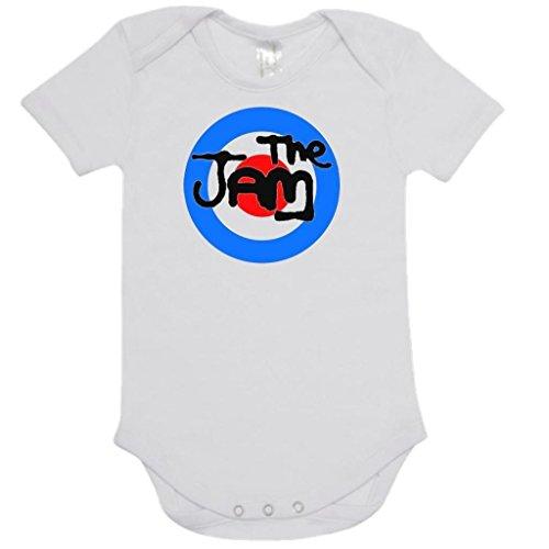 The Jam 'Target Logo' Baby Onesie White Romper (6-12 Months)