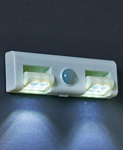 Adjustable Motion Sensor White 8-LED Light