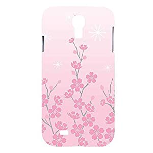 Pink Cherry Blossom Snap on Plastic Case Cover Compatible with Samsung Galaxy S4 GS4Kimberly Kurzendoerfer