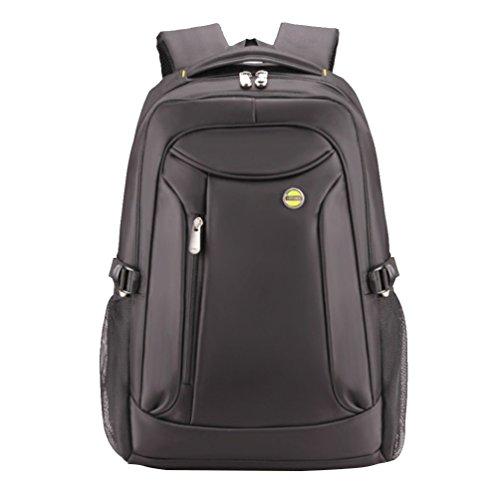 Baymate Mochila para Portatil / Notebook / Ordenador / PC Mochilas Escolares Backpack Laptop para Hombres y Mujeres 16 Pulgada Gris