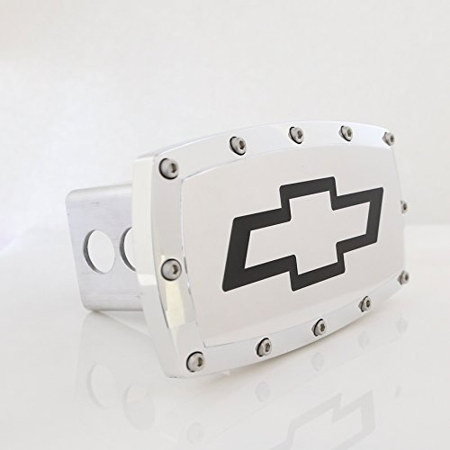 Chevrolet Bowtie Chrome Billet Aluminum Tow Hitch Cover