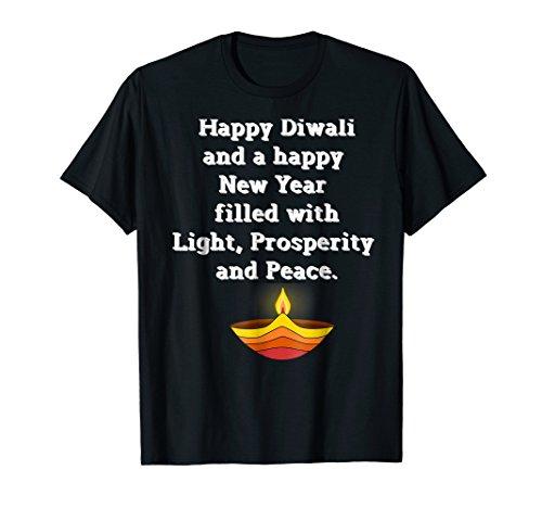 Diwali Holiday Shirt India Happy Diwali And New Year Dark by India Holiday Tees Gilded Penguin