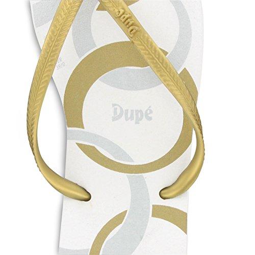 Dupé Joia in braun-gold, weiss-gold oder weiss-silber weiss gold II