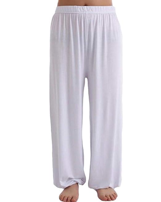 Pantalones Yoga para Hombre Pantalón Laterales Casuales ...