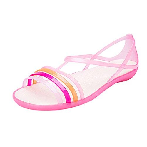 D'été Anti Confortable Soft Sandales Sandales Pantoufles Pink CHENYANG Dérapant Flat Chaussures Femme S1WUwXfq