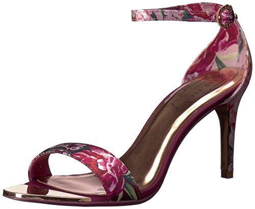 (Ted Baker Women's MYLLI Heeled Sandal, Serenity Satin, 6 M US)