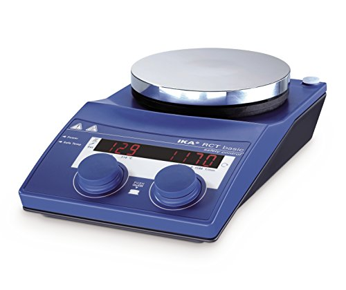 IKA 3810000 RCT Basic IKAMAG Safety Control Aluminum, Magnetic Stirrer, Hotplate, 220-230V - Ika Hot Plate