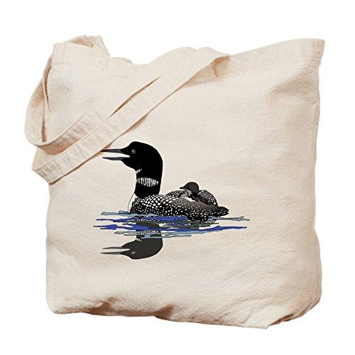 CafePress–Calling Loon–Gamuza de bolsa de lona bolsa, bolsa de la compra Small caqui