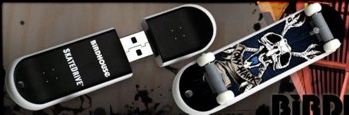 Ep Memory SkateDrive BirdHouse Skate Board 4GB Surfdrive ...