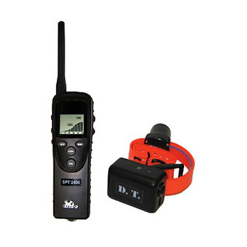 Storm Super Safety Trainer - DT Systems SPT2430 Super Pro e-Lite Trainer Water Proof, Professional Dog Training Collar with Beeper-Locator