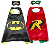 Superhero Direct Superhero Cape Mask - Kids Size (Batman & Robin)