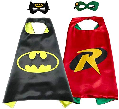Superhero Direct Superhero Cape Mask - Kids Size (Batman & -