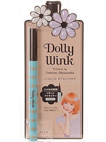 Koji Dolly Wink Liquid Eyeliner Brown (NEW) by Koji