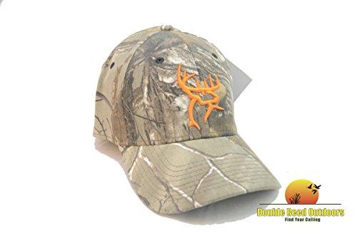 Head Flex Cap, Camo/Orange (Orange Camouflage Cap)