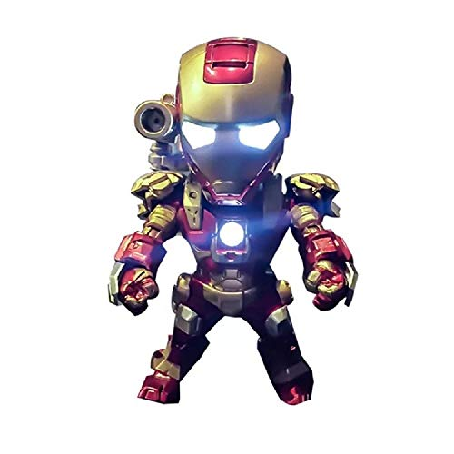 Funko Pop! Marvel Avengers Endgame Iron Man Action Figure Collectible, Car Decoration Bobble Head Doll, 4 Inches