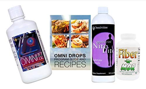 Omni Drop Program Bundle *The FAB4* (Includes: Omni Drops w/Program Guide, Omni IV w/Glucosamine, OmniTrim Nite Lite and Fiber n Mor)
