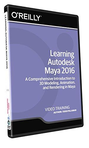 Learning Autodesk Maya 2016 - Training DVD by Infiniteskills