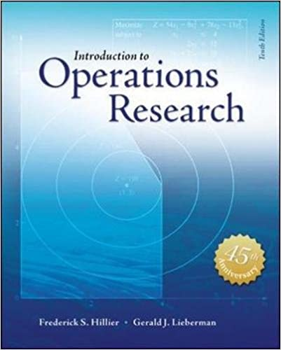 Introduction to operations research with access card for premium introduction to operations research with access card for premium content frederick s hillier 9781259162985 amazon books fandeluxe Gallery