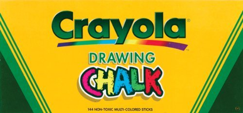 Crayola Colored Drawing Chalk Sticks 144 Ct.