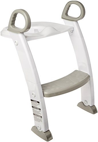 Spuddies Spuddies Potty with Ladder, White/Gray, One Size