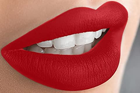 Liquid Matte Lipstick Long Lasting Waterproof Mineral Formula - Glory