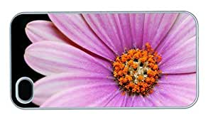 Hipster iPhone 4 carrying covers Cape Daisy PC White for Apple iPhone 4/4S