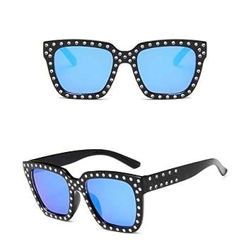DXXHMJY Gafas de Sol Gafas de Sol de Mujer Cristal ...